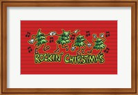 Framed Rockin' Christmas