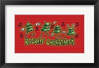 Framed Rockin' Christmas