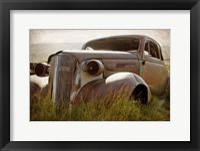 Framed Bodie Junkyard Chevy