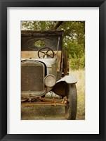 Framed Ford Model TT