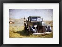 Framed Ford V8