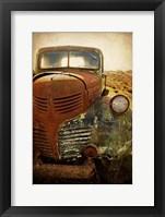 Framed Rusty Dodge