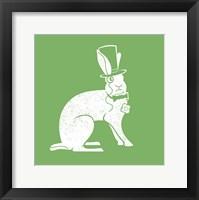 Framed Wabbit Green