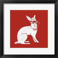 Framed Wabbit Red