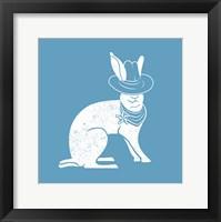 Framed Wabbit Blue
