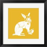Framed Wabbit Yellow