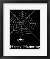 Framed Happy Haunting