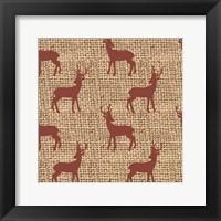 Framed Red Deer
