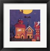 Framed Haunted House