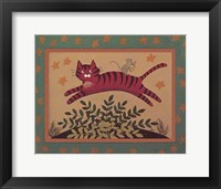 Framed Cat & Mouse