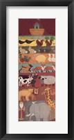 Framed Noah's Ark