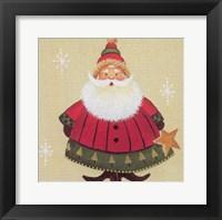 Framed Santa 1