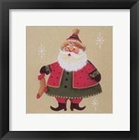 Framed Santa 3