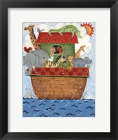 Framed Noah's Ark 2