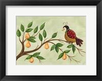 Framed Partridge In A Pear Tree