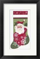 Framed Santa Stocking