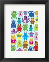 Framed Monsters and Aliens
