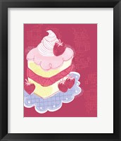 Framed Strawberry Short Cake