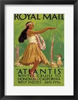 Framed Royal Mail