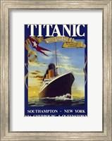 Framed Titanic