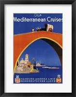 Framed Mediterranean Cruises