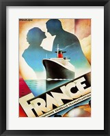 Framed Sail to France