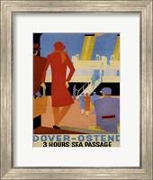 Framed Dover Ostend