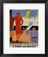 Framed Dover Ostend