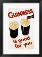 Framed Guinness