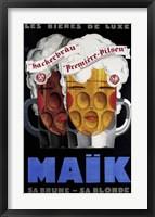 Framed Maik