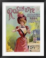 Framed Rosinette
