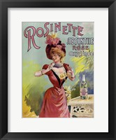 Framed Rosinette