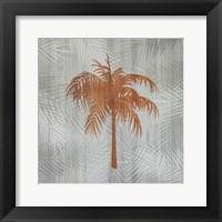 Framed Palm Tree II