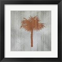 Framed Palm Tree I