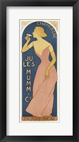 Framed Champagne Ju Les Mumm