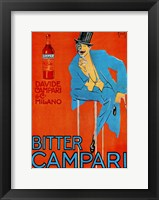 Framed Bitter Campari