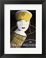 Framed Liebart Regnier