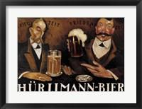 Framed Hurlimann Bier