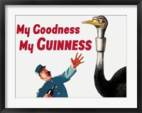 Framed My Goodness My Guinness