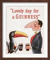 Framed Lovely Day for a Guinness