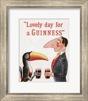 Framed Lovely Day for a Guinness