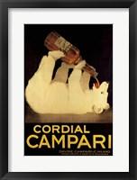 Framed Cordial Campari