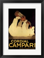 Framed Cordial Campari