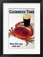 Framed Guinness Time