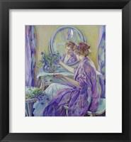 Framed Purple Boudoir