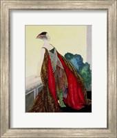 Framed Art Deco Woman