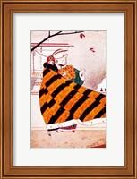 Framed Art Deco Woman 2