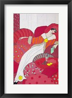 Framed Art Deco Woman 3