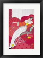 Framed Art Deco Woman 3