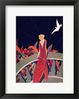Framed Art Deco Woman 4